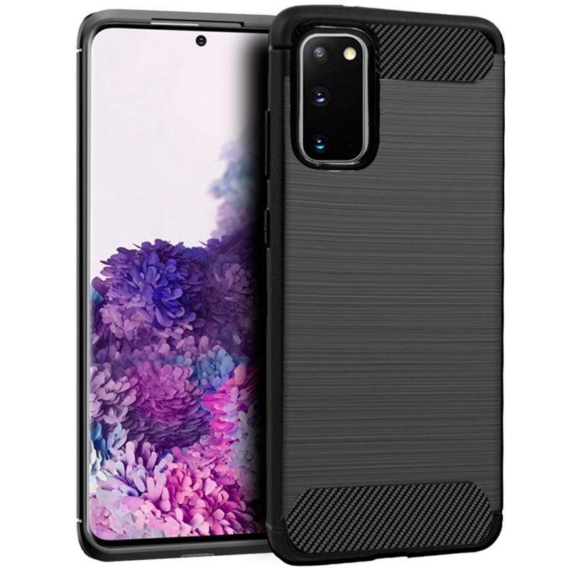 Carcasa COOL para Samsung G980 Galaxy S20 Carbón Negro