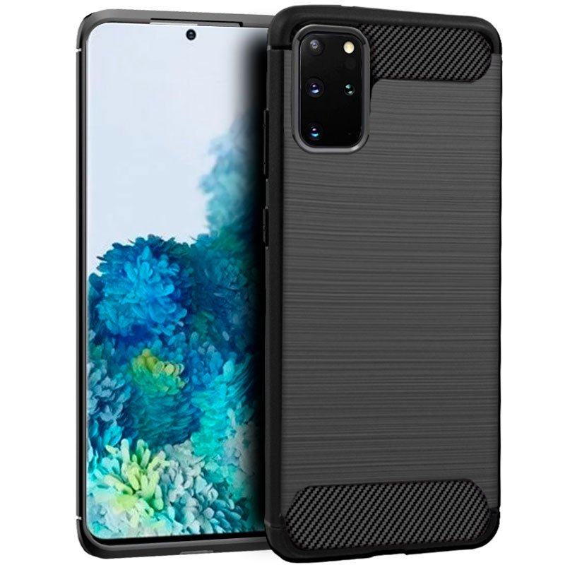 Carcasa COOL para Samsung G985 Galaxy S20 Plus Carbón Negro