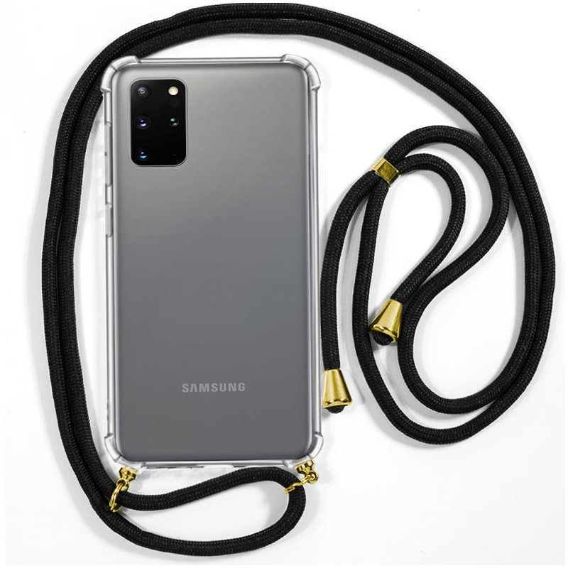 Carcasa COOL para Samsung G985 Galaxy S20 Plus Cordón Negro