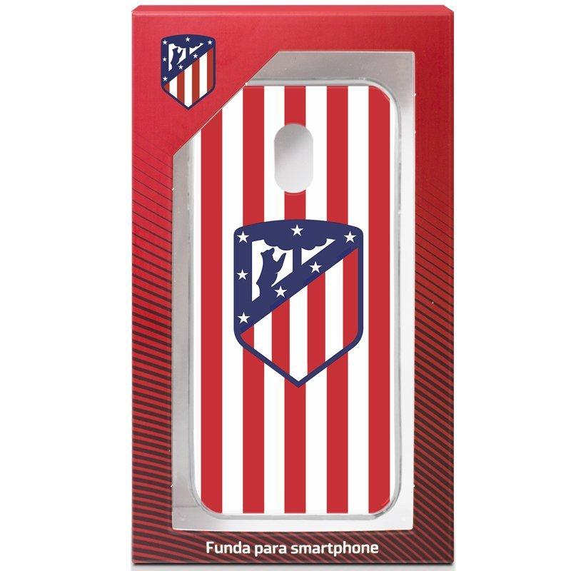 Carcasa COOL para Samsung J330 Galaxy J3 (2017) Licencia Fútbol Atlético Madrid
