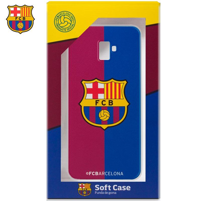 Carcasa COOL para Samsung J610 Galaxy J6 Plus Licencia Fútbol F.C. Barcelona