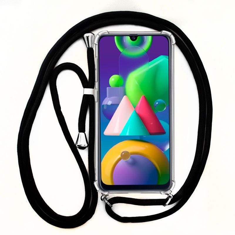 Carcasa COOL para Samsung M215 Galaxy M21 Cordón Negro