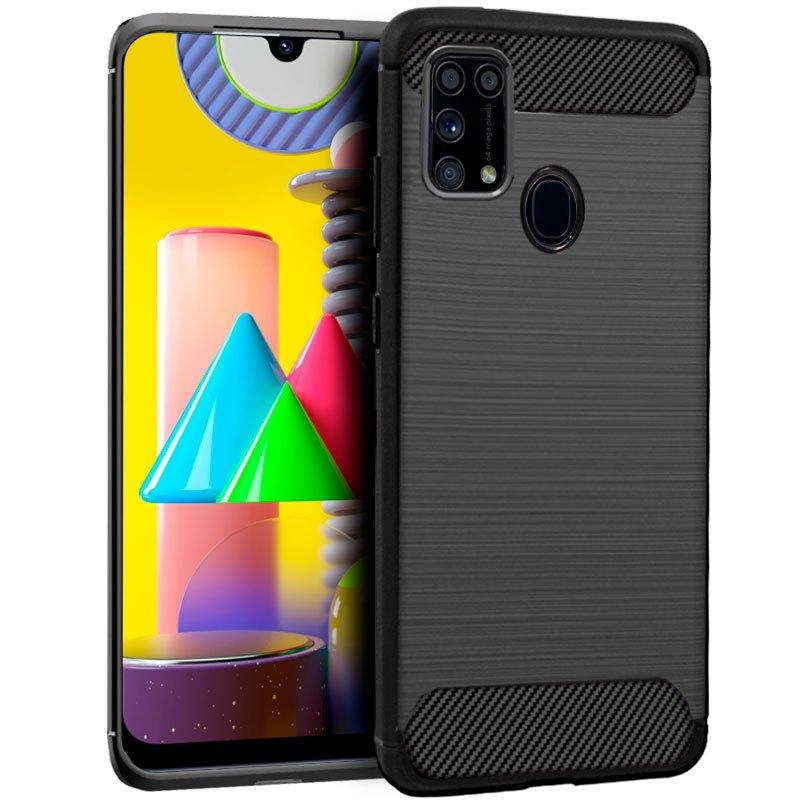 Carcasa COOL para Samsung M315 Galaxy M31 Carbón Negro