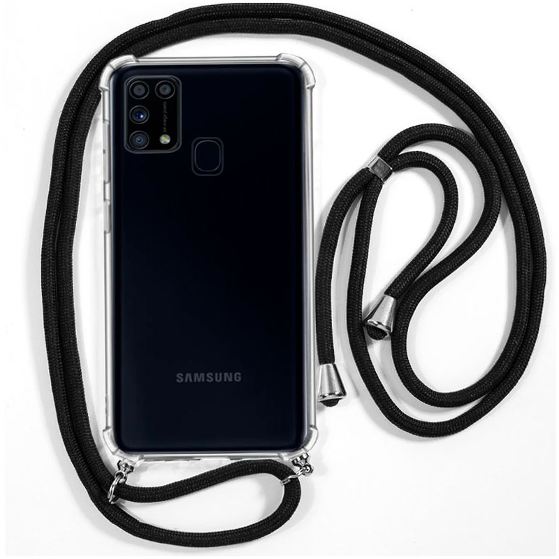 Carcasa COOL para Samsung M315 Galaxy M31 Cordón Negro
