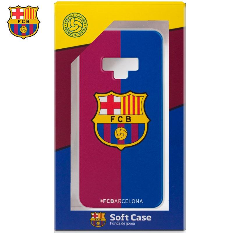 Carcasa COOL para Samsung N960 Galaxy Note 9 Licencia Fútbol F.C. Barcelona