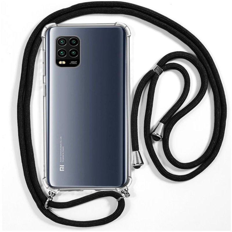 Carcasa COOL para Xiaomi Mi 10 Lite Cordón Negro