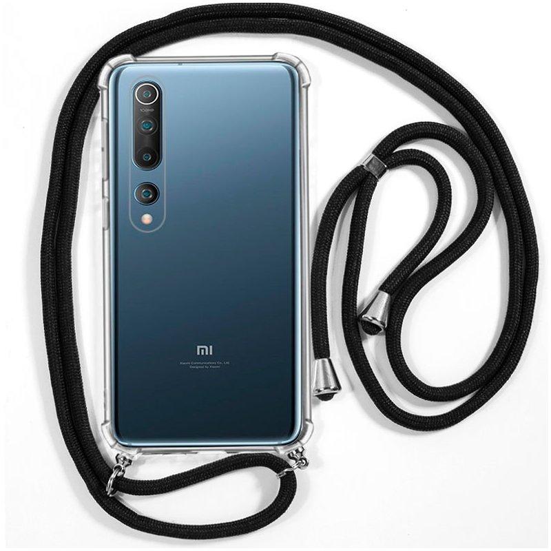 Carcasa COOL para Xiaomi Mi 10 / Mi 10 Pro Cordón Negro