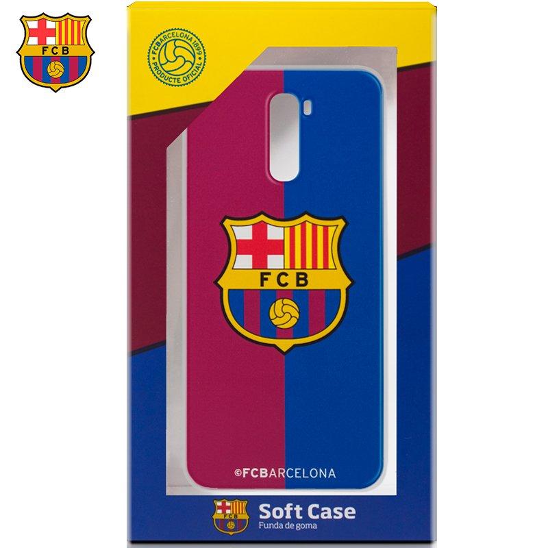 Carcasa COOL para Xiaomi Pocophone F1 Licencia Fútbol F.C. Barcelona Blaugrama