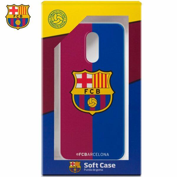 Carcasa COOL para Xiaomi Redmi 5 Plus Licencia Fútbol F.C. Barcelona