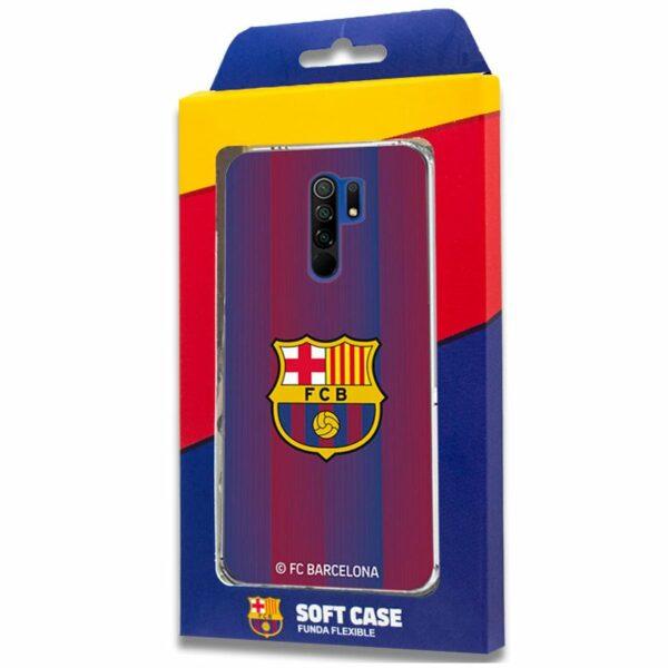 Carcasa COOL para Xiaomi Redmi 9 Licencia Fútbol F.C. Barcelona