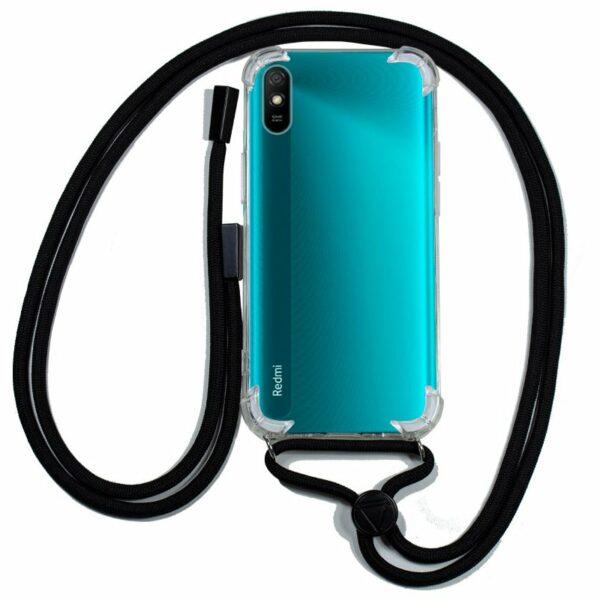 Carcasa COOL para Xiaomi Redmi 9A / 9AT Cordón Negro