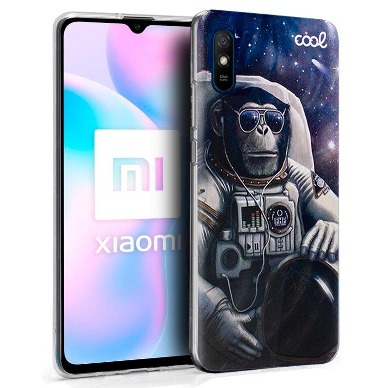 Carcasa COOL para Xiaomi Redmi 9A / 9AT Dibujos Astronauta