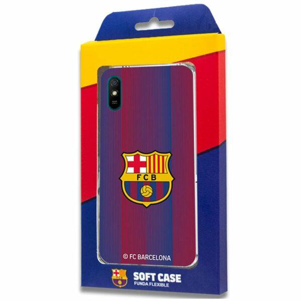 Carcasa COOL para Xiaomi Redmi 9A / 9AT Licencia Fútbol F.C. Barcelona