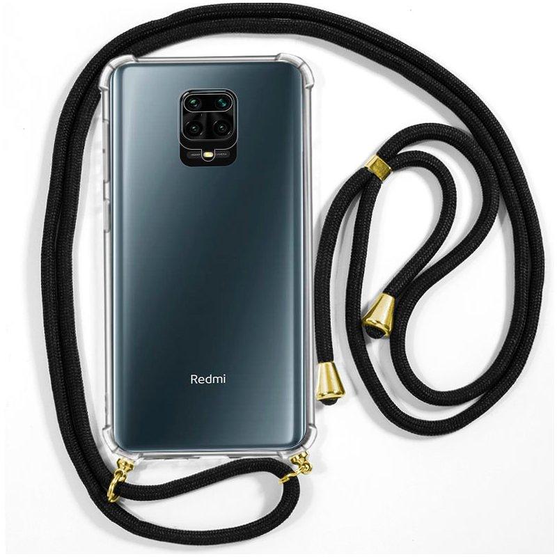 Carcasa COOL para Xiaomi Redmi Note 9S / Note 9 Pro Cordón Negro