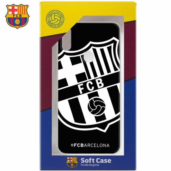 Carcasa COOL para Xiaomi Redmi S2 Licencia Fútbol F.C. Barcelona Negro