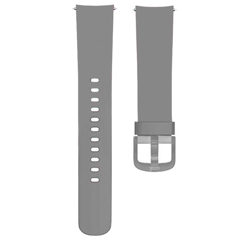 Correa Universal 20mm Amazfit Bip / GTS / Bip Lite / Huawei / Samsung / COOL Oslo Goma Gris