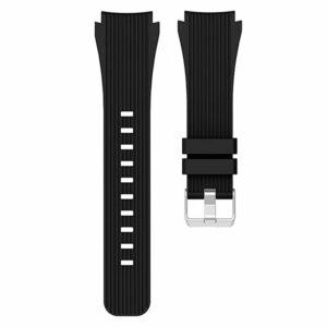 Correa Universal 20mm Amazfit Bip / GTS / Bip Lite / Huawei / Samsung / COOL Oslo Goma Negro