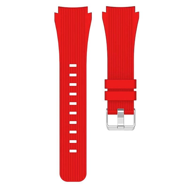 Correa Universal 20mm Amazfit Bip / GTS / Bip Lite / Huawei / Samsung / COOL Oslo Goma Rojo