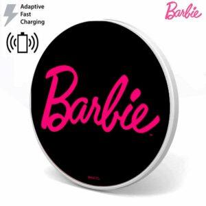 Dock Base Cargador Smartphones Qi Inalámbrico Universal Licencia Barbie (Carga Rápida)