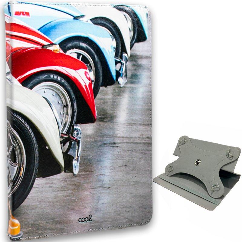 Funda COOL Ebook Tablet 10 Pulgadas Universal Dibujos Cars