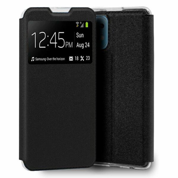 Funda COOL Flip Cover para Xiaomi Mi 11 Liso Negro