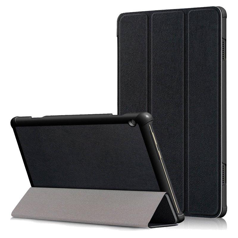 Funda COOL para Lenovo Tab M10 (TB-X505) Polipiel Liso Negro 10.1 pulg