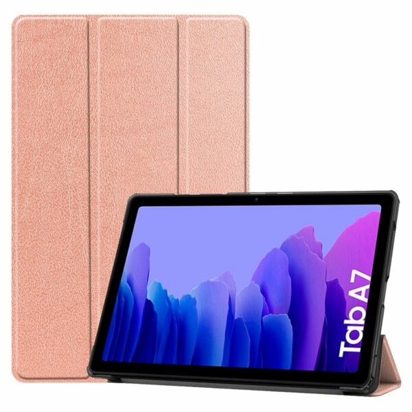 Funda COOL para Samsung Galaxy Tab A7 T500 / T505 Polipiel Liso Rose Gold 10.4 pulg