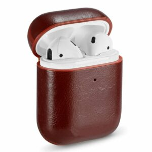 Funda Soft COOL para Apple Airpods (Leather Marrón)