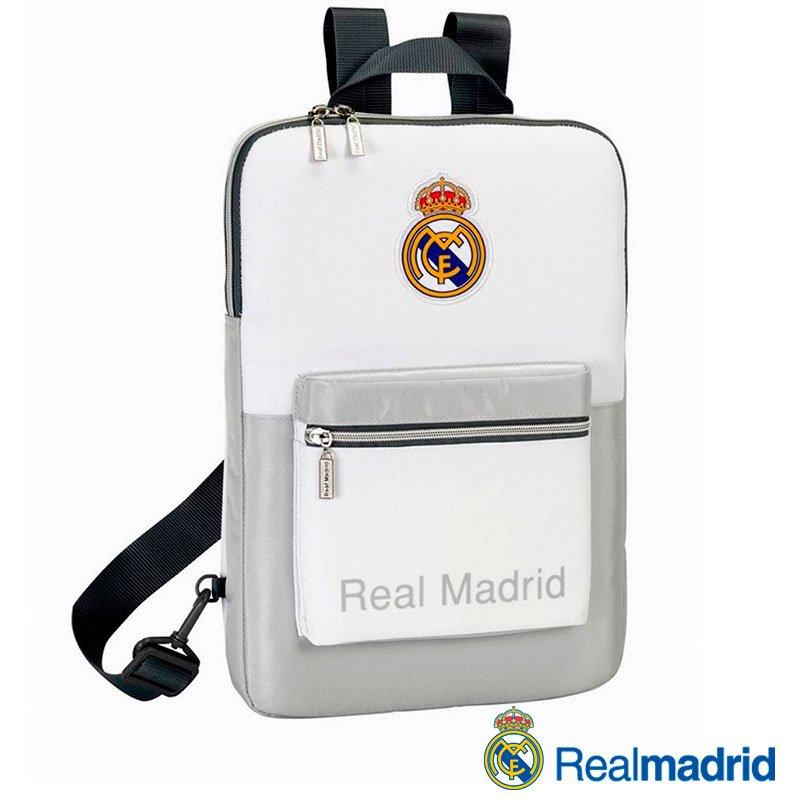 Maletín Ordenador Portátil 15-16 pulg Licencia Fútbol Real Madrid C.F. Mochila