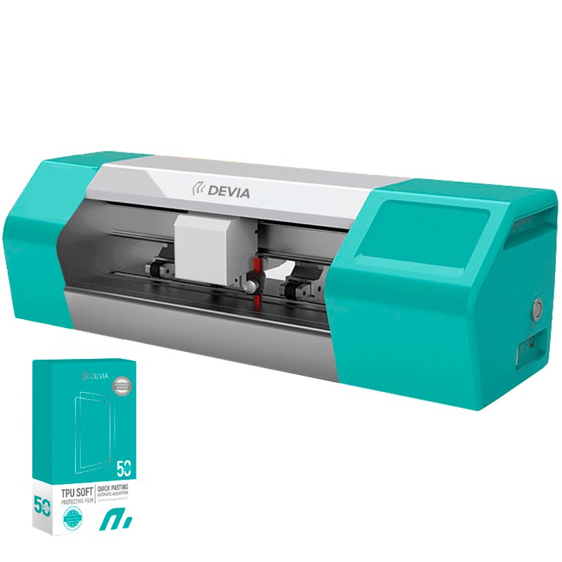 Máquina Plotter Corte Devia Basic Láminas Hidrogel (V2 Sin Display) + 50 Láminas