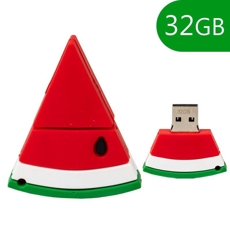 Pen Drive USB x32 GB Silicona Sandía